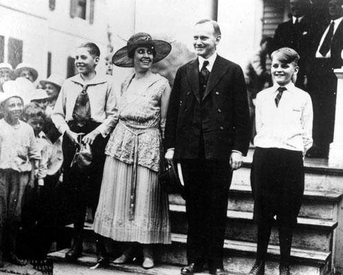 presidente coolidge esposa