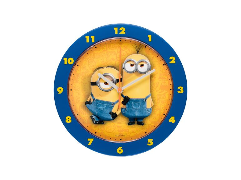 Reloj de pared Minions azul disponible en Lidl