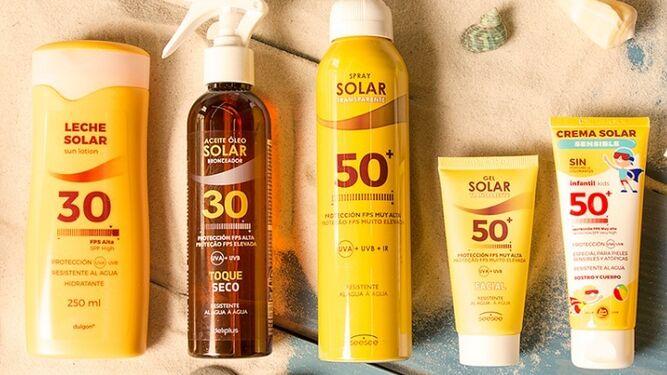 cremas solares de deliplus