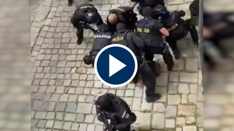 Disparos, policías y un hombre con cuchillo: caos en la embajada de España en Eslovaquia