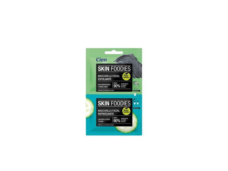 Skin foodies mascarilla facial exfoliante y nutritiva de Lidl
