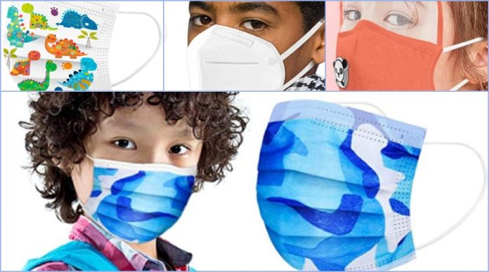Amazon mascarillas infantiles higiénicas y FFP2 para la vuelta al cole
