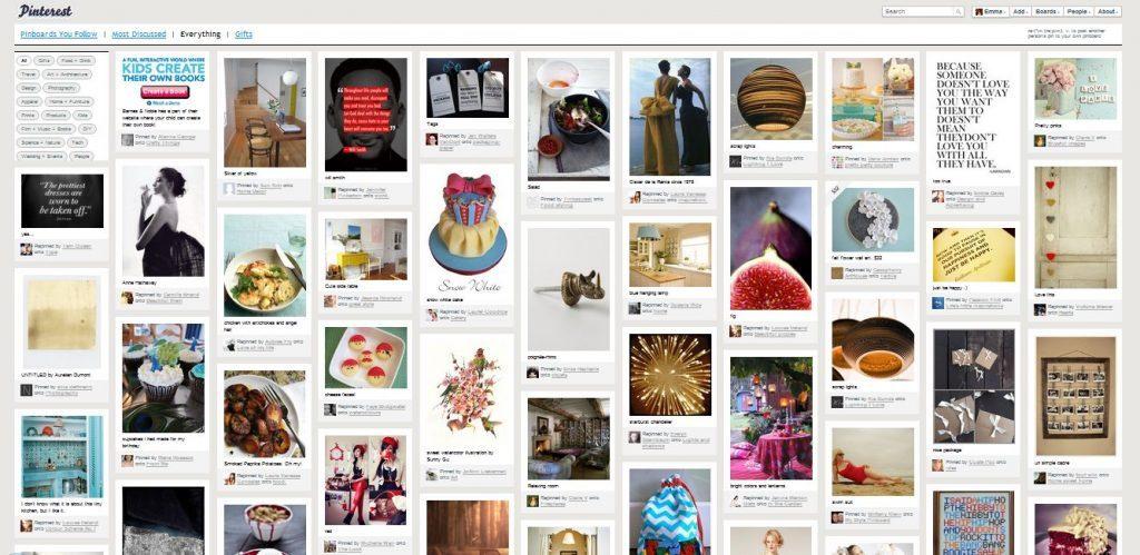 Novedades de Pinterest