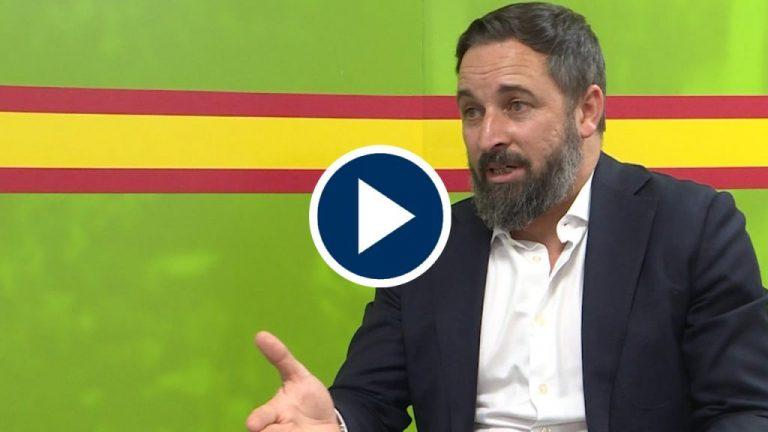 Abascal se moja y pone fecha fin al mandato de Sánchez e Iglesias