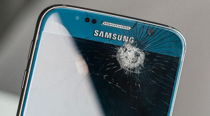 El cristal del móvil