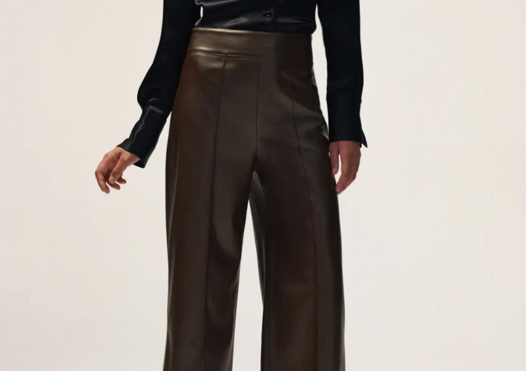 pantalon culotte zara