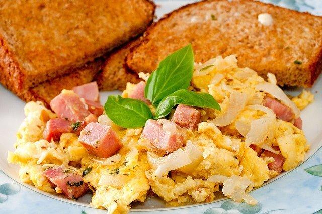 Recetas para hacer huevos revueltos estando a dieta
