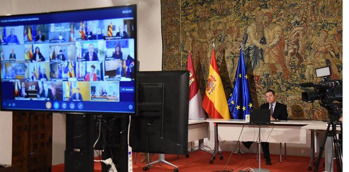 Comienza la Conferencia de Presidentes sobre la pandemia, el curso escolar y los fondos europeos