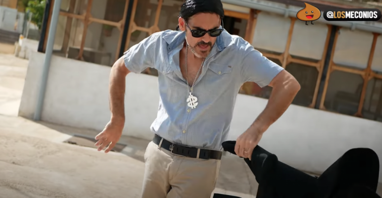 El vídeo que rompe las redes: Iglesias bailando al ritmo del Fary