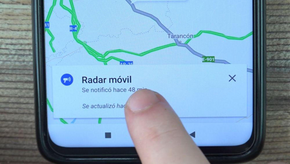 Cómo hacer que Google Maps te avise de los radares de la DGT (y te ahorre multas)