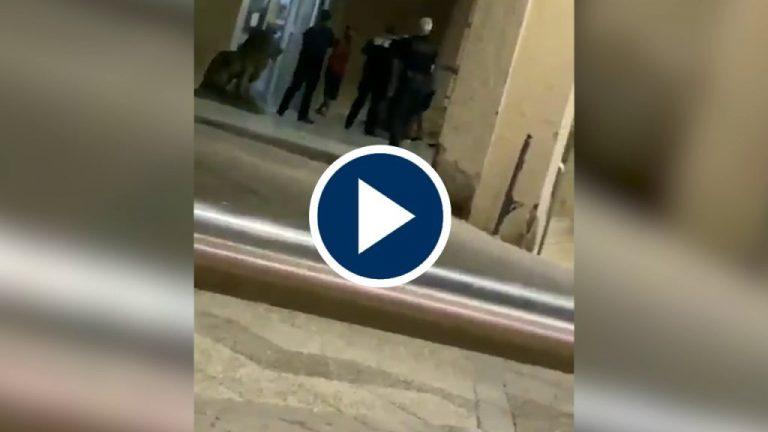 Un hombre se autolesiona con unas tijeras en una comisaría en Ceuta