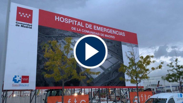Vídeo: Así están las obras del hospital de pandemias de la Comunidad de Madrid