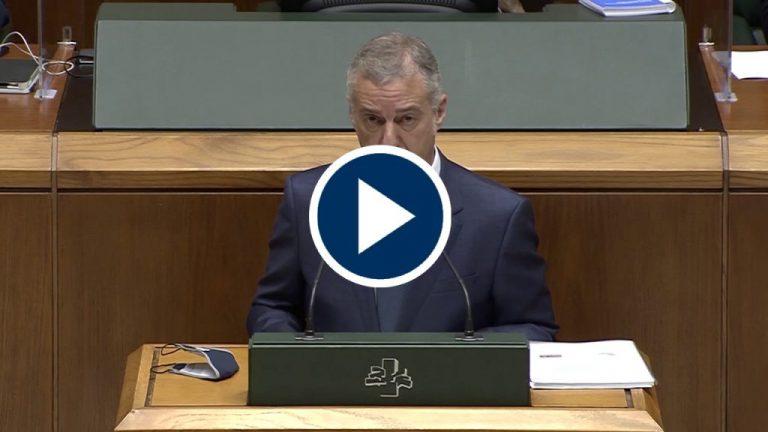 Iñigo Urkullu elegido Lehendakari por tercera vez