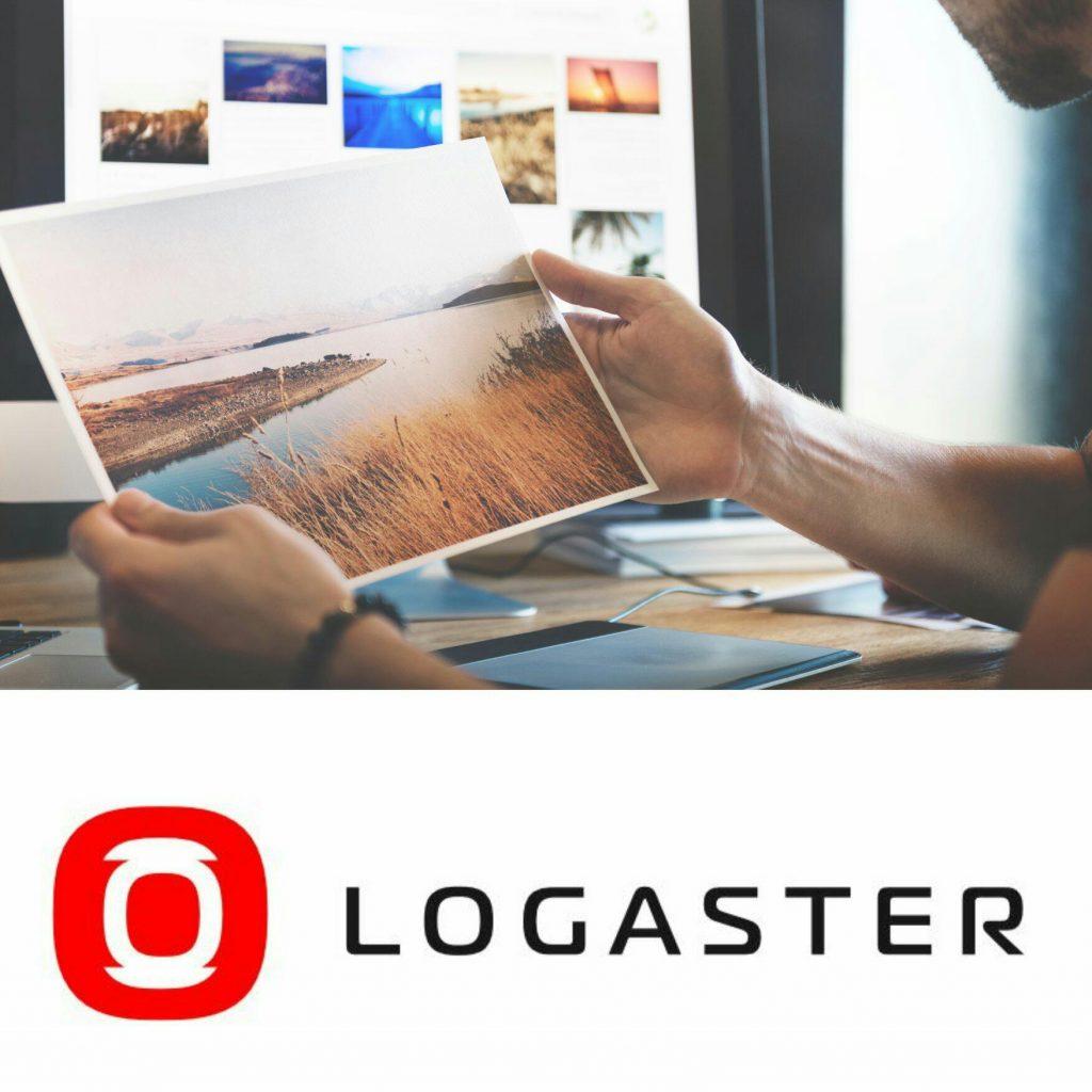 Logaster para hacer logos