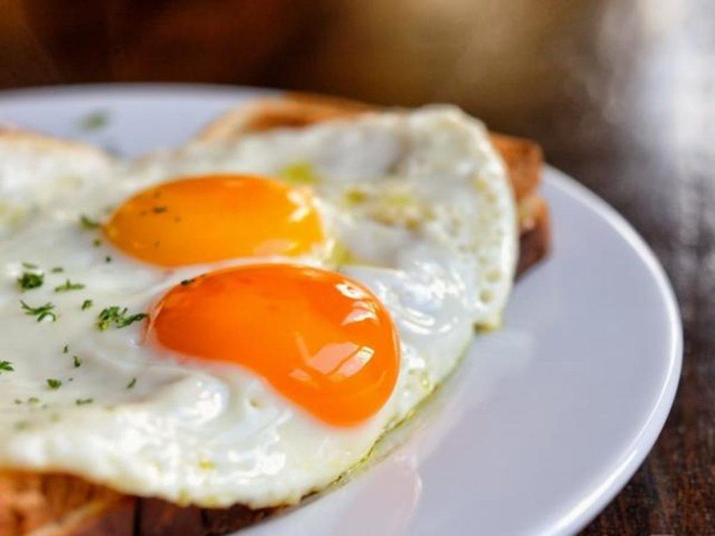 Los encantos de un huevo frito