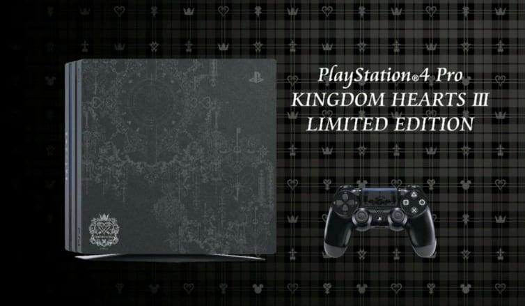 PS4 Slim Kingdom Hearts III Edition