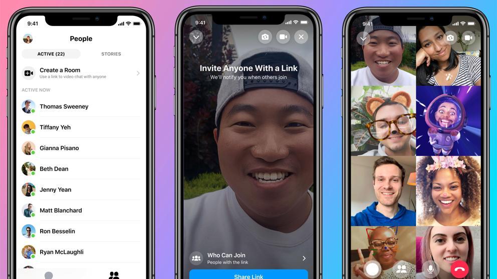 Qué es Messenger Rooms, la alternativa a Zoom