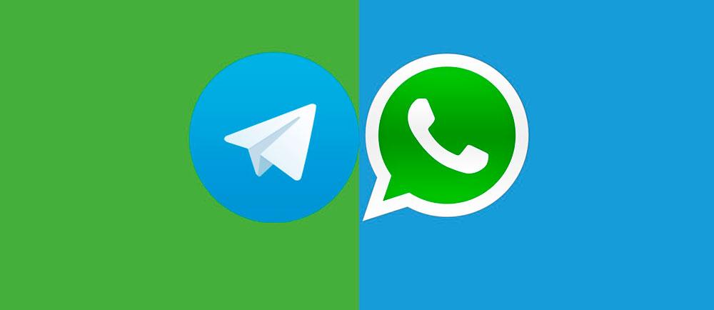 Quién es mejor, Telegram o WhatsApp