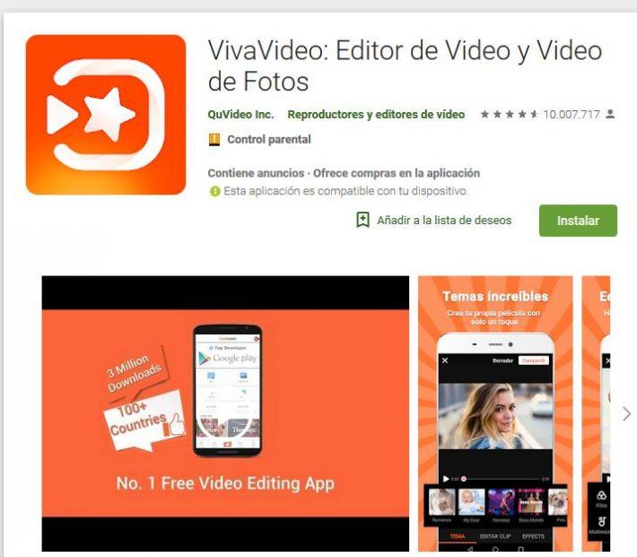 VivaVideo, de las aplicaciones más perfectas