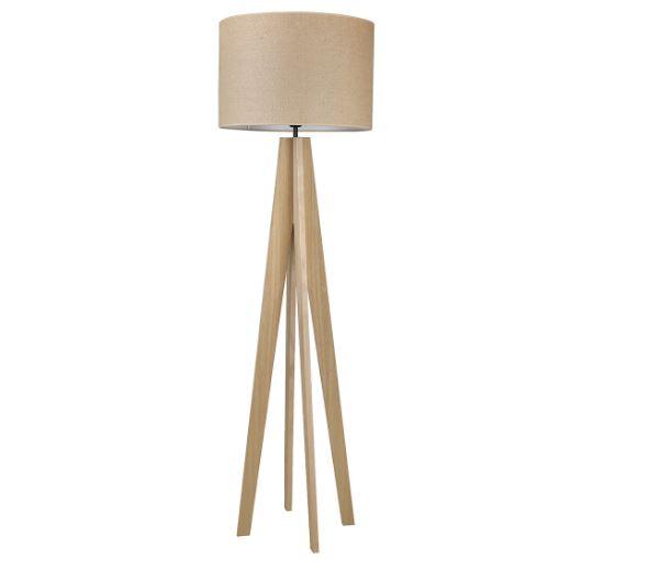 Lámpara de pie de madera Jacob El Corte Inglés