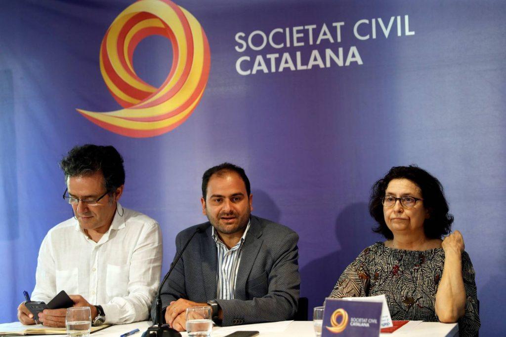 Societat Civil Catalana reclama se denieguen las peticiones de indulto a los condenados del 'Procés'