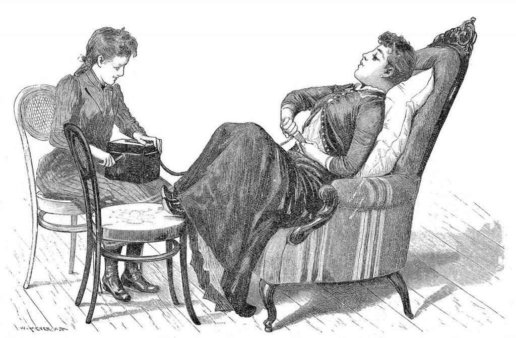 histeria femenina origen