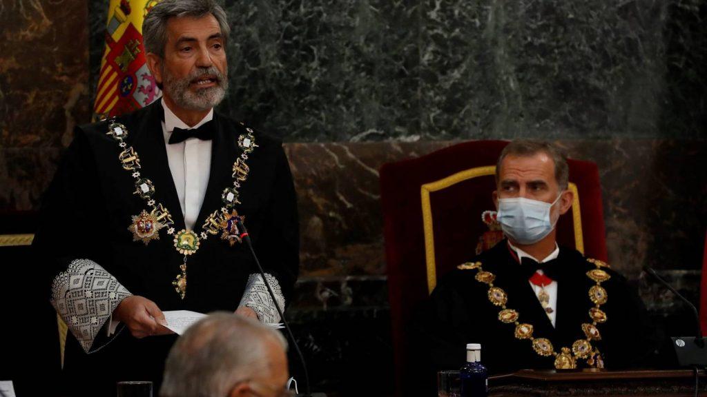 jueces molestos por la ausencia de Felipe VI