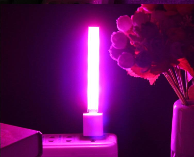 lampara para flores
