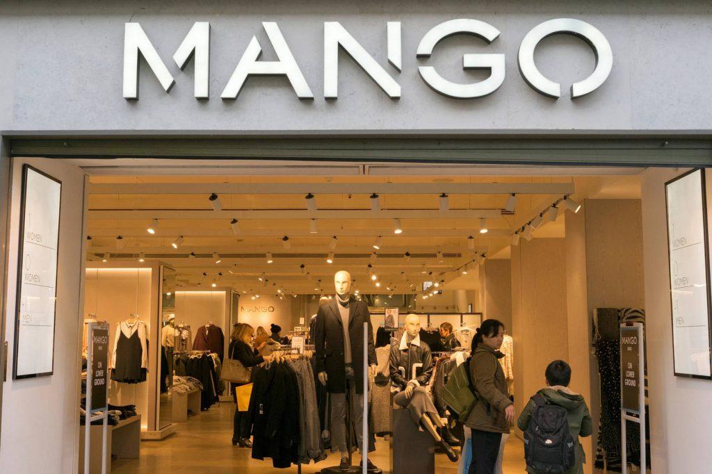 Moda en Mango