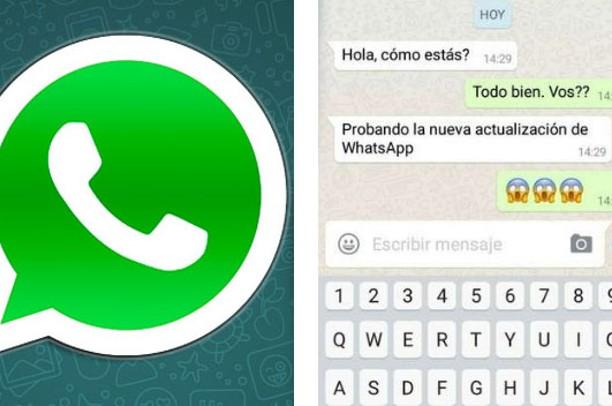 Todos los mensajes de WhatsApp