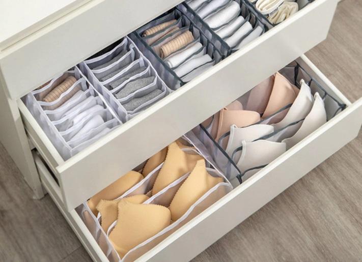 organizador de ropa interior