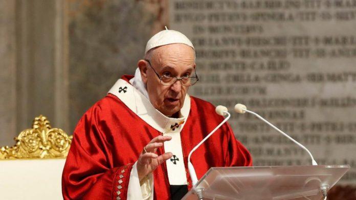 El Papa denuncia que algunos políticos instrumentalizan la pandemia