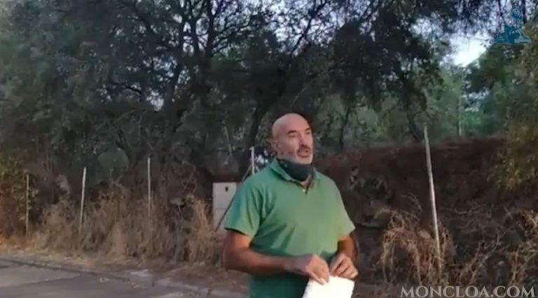 """La reflexión frente al chalet de Iglesias colgado en las redes: """"Si la quemo, no pasa nada"""""""