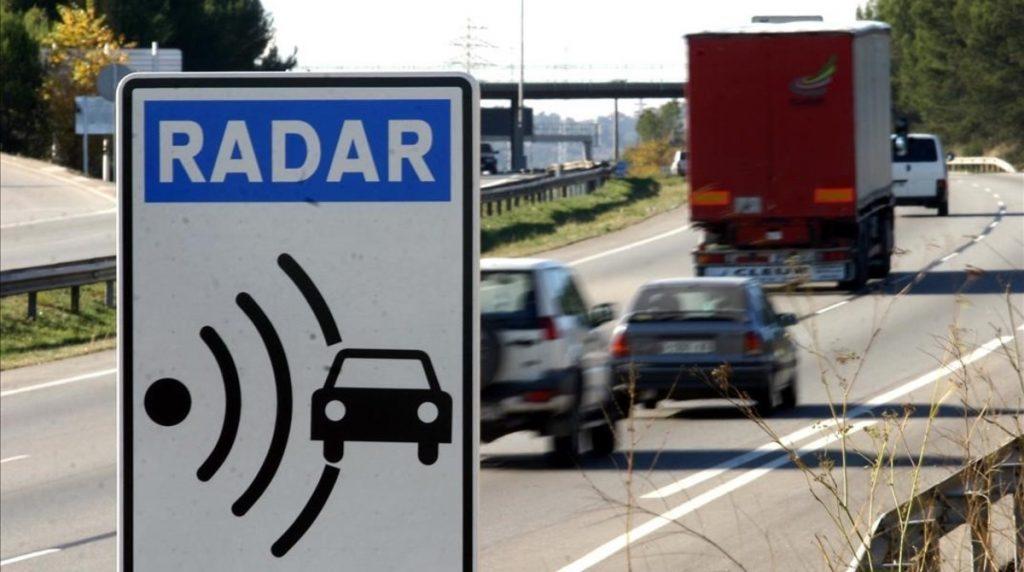 Los radares de velocidad de la DGT