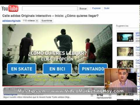 Videos interactivos en YouTube