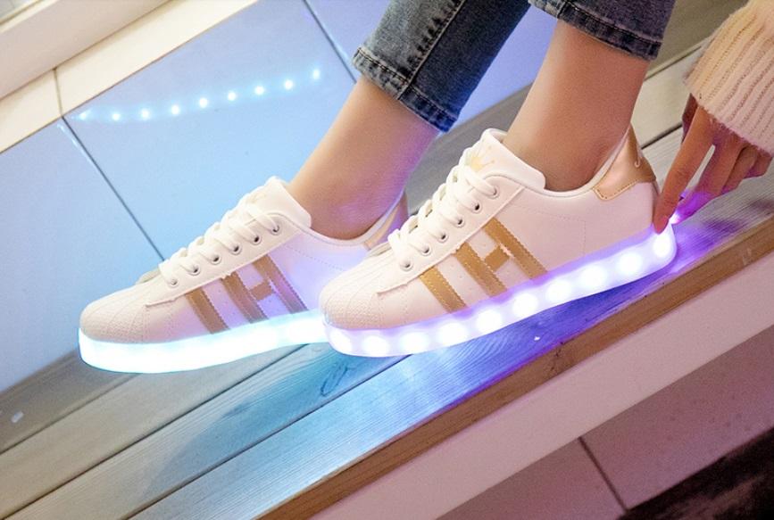 zapatillas LED