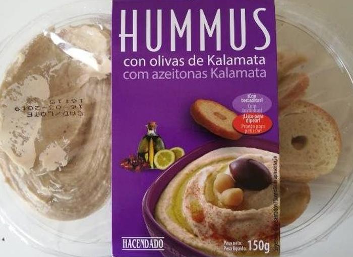 EL FAMOSO HUMMUS DE MERCADONA