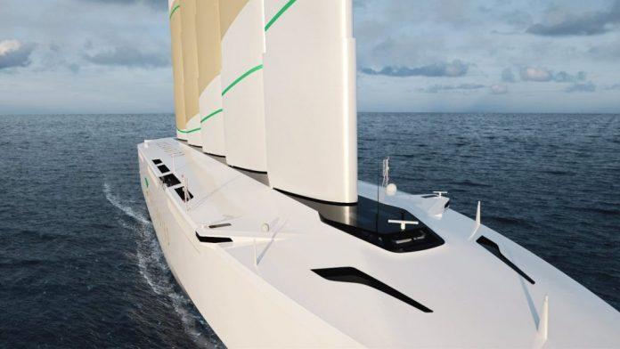 Así es el buque mercante futurista de dos españoles