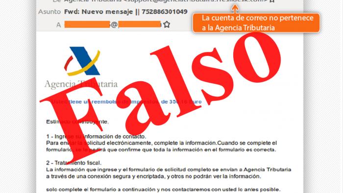 Email falsos o phishing