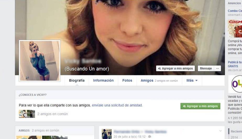 Los perfiles falsos de Facebook