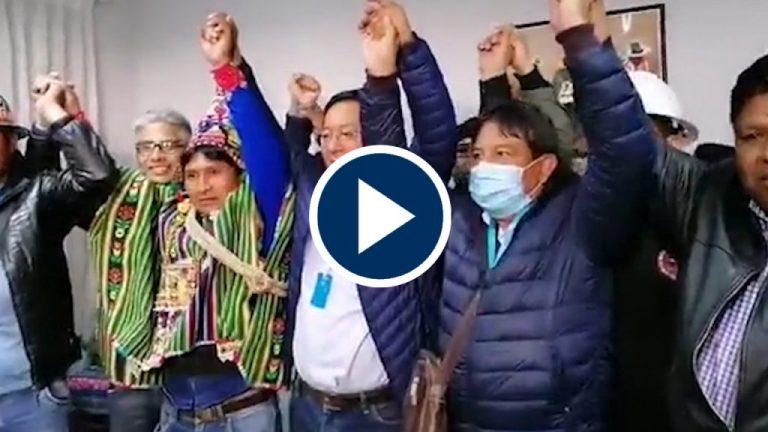 El MAS de Evo Morales vence en las elecciones de Bolivia