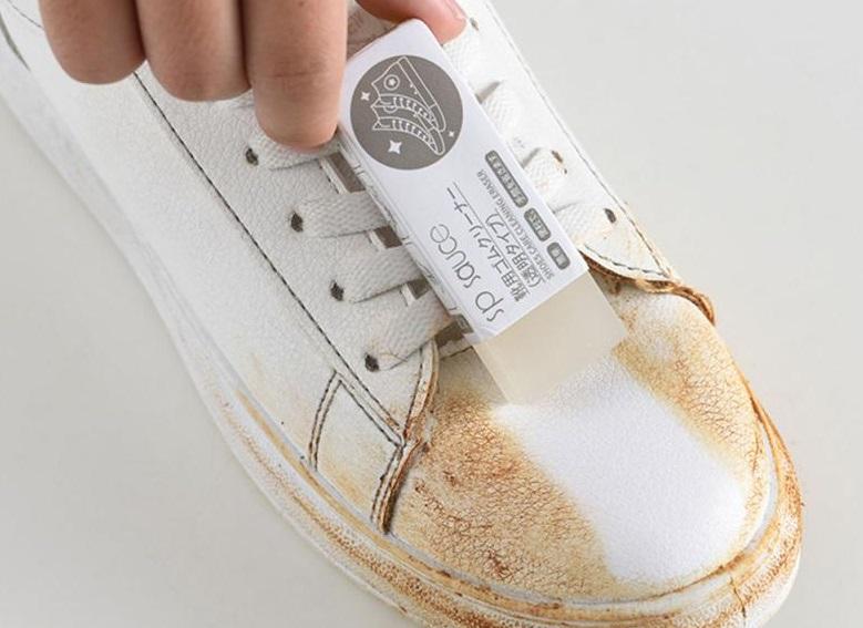goma de borrar zapatos