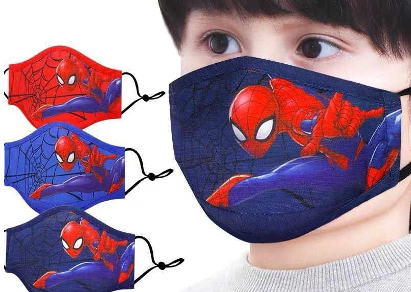 mascarillas spiderman