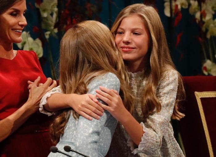 Los privilegios que tiene Leonor frente a su hermana Sofía