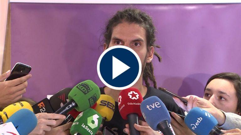 El Supremo pedirá al Congreso el suplicatorio de Alberto Rodríguez
