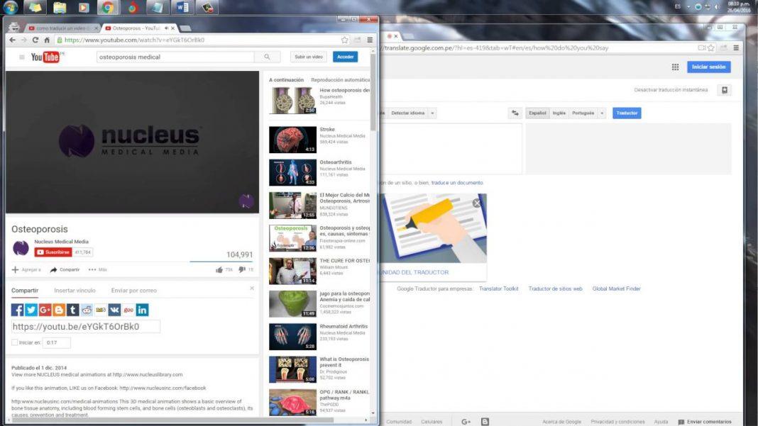 Cómo transformar una página en vídeo con Google