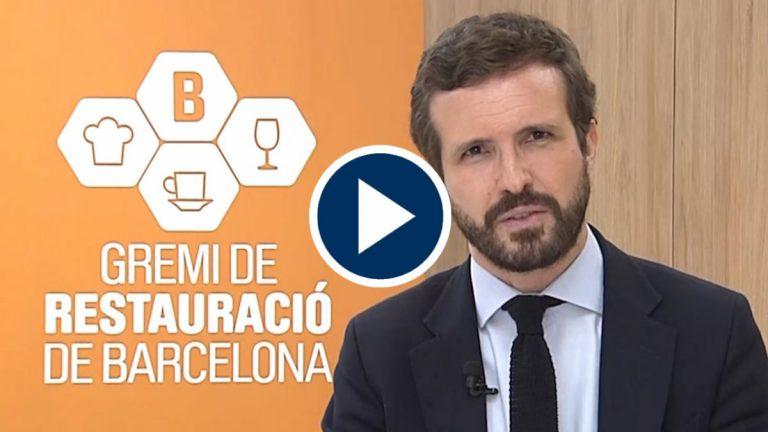 Casado dice que Podemos «se está comiendo al PSOE»