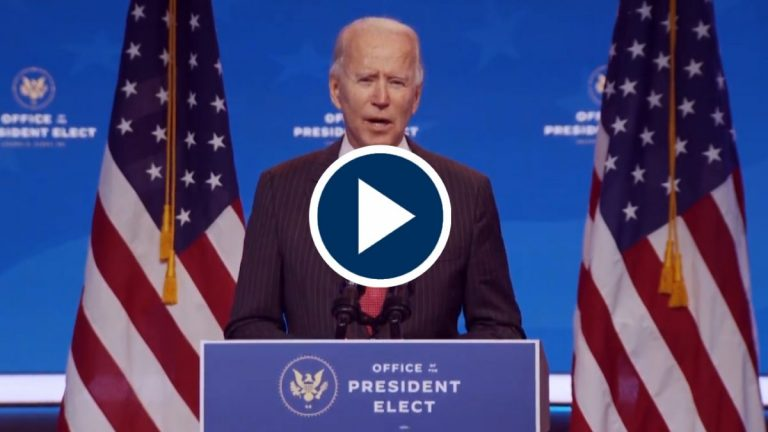 Georgia da el triunfo final al presidente electo, Joe Biden