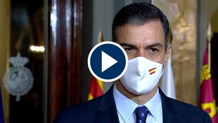 Sánchez apuesta por una «desescalada» coordinada a nivel europeo para evitar una tercera ola