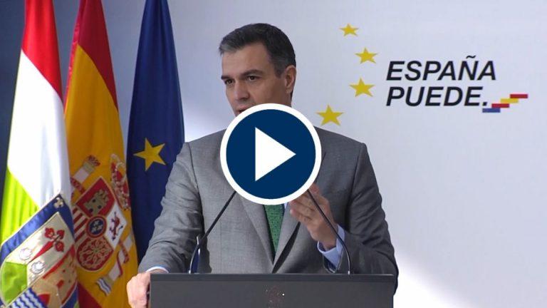 Sánchez anuncia que aprobará una estrategia de vacunación